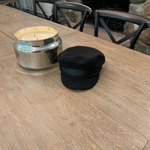 🔥ASOS Captains Hat Black High Quality